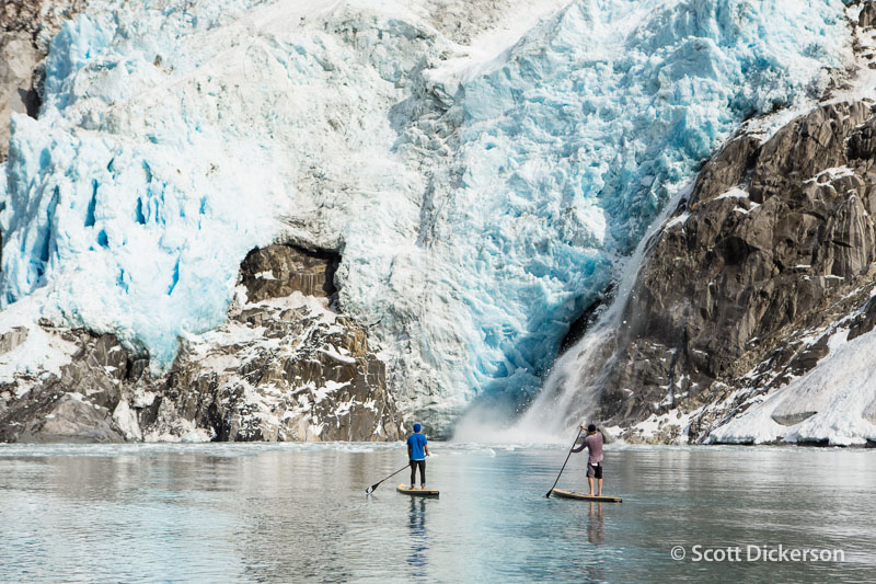SUP Kenai Fjords: glaciers and more